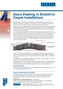 seam-peaking